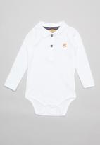 UP Baby - Golfer bodysuit - white