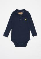 UP Baby - Golfer bodysuit - navy