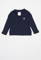 UP Baby - Baby cardigan - navy