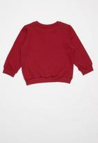 UP Baby - Baby sweatshirt - red