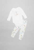UP Baby - Boys bodysuit - milk