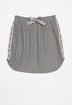 Gloss - Girls sweat skirt - light grey