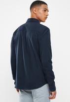 JEEP - Dapper flannel shirt - navy