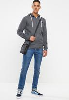O'Neill - Badger zip through hoodie - charcoal