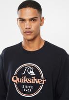 Quiksilver - Words remain sweatshirt - black