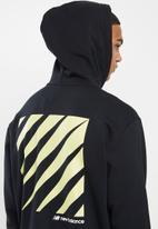 New Balance  - Optiks hoodie - black
