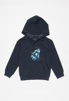POP CANDY - Rocket brushed fleece hoodie - navy