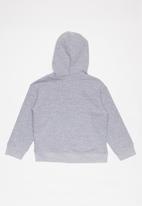 POP CANDY - Boys zip through hoodie - grey