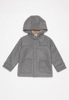 POP CANDY - Boys hooded coat - grey