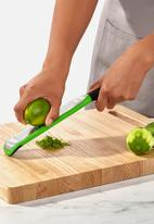 OXO - Etched zester grater - green & black