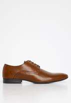 Superbalist - Donovan leather derby - tan