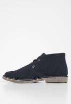 JEEP - Suede felt skoen boot - navy