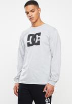 DC - Basic long sleeve T-shirt - grey