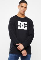 DC - Basic long sleeve T-shirt - black