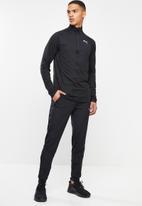 PUMA - Ignite half zip top - black