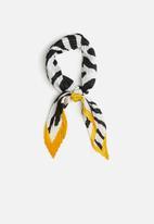 Superbalist - Zebra print neckerchief - multi