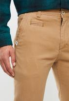 JEEP - Base chino - camel