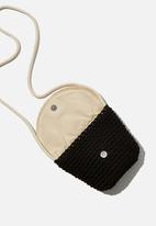 Cotton On - Meghan fashion bag -  black & cream