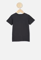 Cotton On - Co-lab short sleeve tee - charcoal