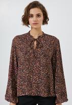 Superbalist - Key hole blouse - multi