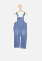 Cotton On - Gabby denim overall - blue