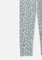 Cotton On - Huggie tights - blue & white
