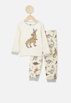 Cotton On - Noah long sleeve pj set - multi