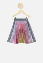 Cotton On - Kimberly dress up skirt - rainbow sky