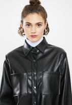 Blake - Pu jacket - black