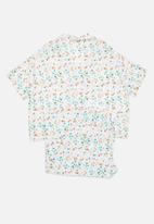 Superbalist - Plus sleep shirt & cullottes - multi