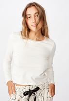 Cotton On - Bed time jersey top - neutral