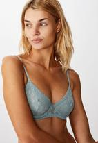 Cotton On - Daisy underwire - willow green
