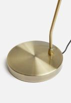 Sixth Floor - Cassie desk lamp - gold