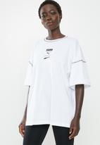 PUMA - Recheck pack graphic tee - white