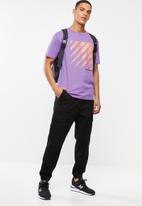 New Balance  - Optiks short sleeve tee - purple