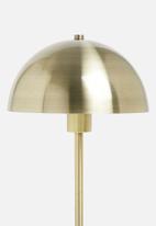 Sixth Floor - Zen floor lamp - gold