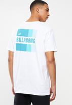 Billabong  - Prism short sleeve tee - white