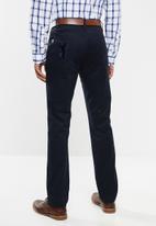 Pringle of Scotland - Macintosh 5 pocket trousers - navy