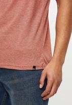 O'Neill - Brown short sleeve tee - rust red