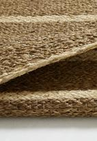 Sixth Floor - Mekong river rug - natural
