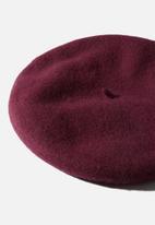Rubi - Coco beret - red mahogany