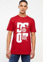 DC - Chili pepper logo tee - red