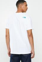 The North Face - Graphic flow 1 tee - white