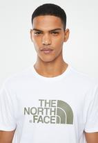 The North Face - Easy printed tee - white