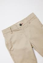 GUESS - Teens Guess boys classic chino pants - beige