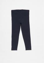 POP CANDY - Girls 2 pack leggings - navy & grey
