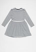 POP CANDY - 2 Pack dress - navy & white