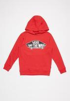 Vans - Boys off the wall pullover fleece - red