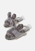 Cotton On - Novelty slide slipper - grey