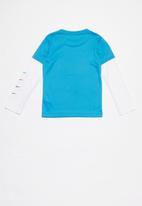 Nike - Nike sportswear jersey performance - blue & white